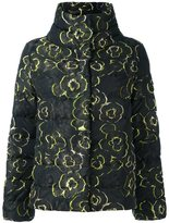 Etro stand collar padded jacket