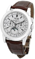 Patek Philippe 5970-G Perpetual Calendar Chronograph 18K White Gold Mens Watch