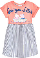 Peppa Pig Nickelodeon's Sea You Later Dress, Toddler Girls