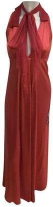 Jasmine Di Milo Red Silk Dress for Women