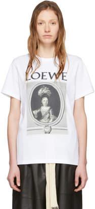 Loewe White Portrait T-Shirt
