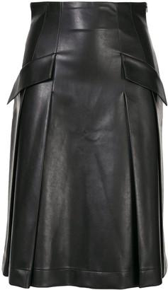 Ermanno Scervino Flap Pocket Skirt