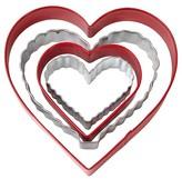 Wilton Heart Cookie Cutter Set - 4 Pcs