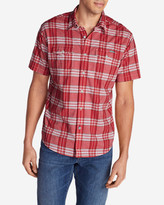 Eddie Bauer Men's Vashon Short-Sleeve Shirt - Stripe