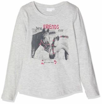 Schiesser Girl's Shirt 1/1 Long Sleeve Top