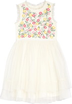 Boden Mini Embroidered Floaty Dress