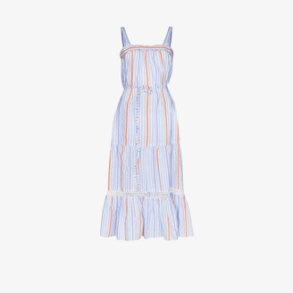 Lemlem Bahiri Sweepy Striped Dress