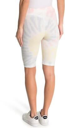 Elodie K Ribbed Tie Dye Bike Shorts