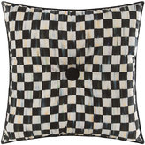 Mackenzie Childs Courtly Check Button Cushion