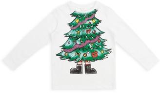 Stella McCartney Kids Christmas Tree T-Shirt (2-12 Years)
