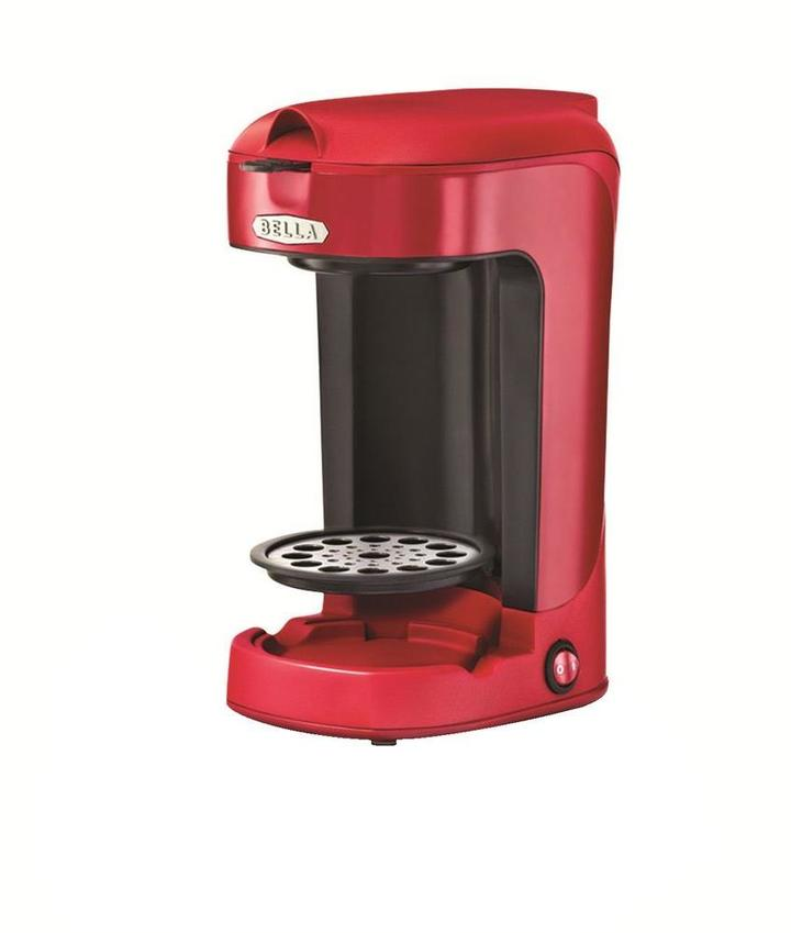 B.ella 12 oz. Single Brew Coffee Maker in Red
