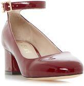 Biba Bonnet ankle strap block heel court shoes