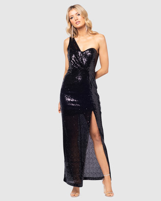 Pilgrim Women's Black Maxi dresses - Olinta Gown - Size One Size, 10 at The Iconic