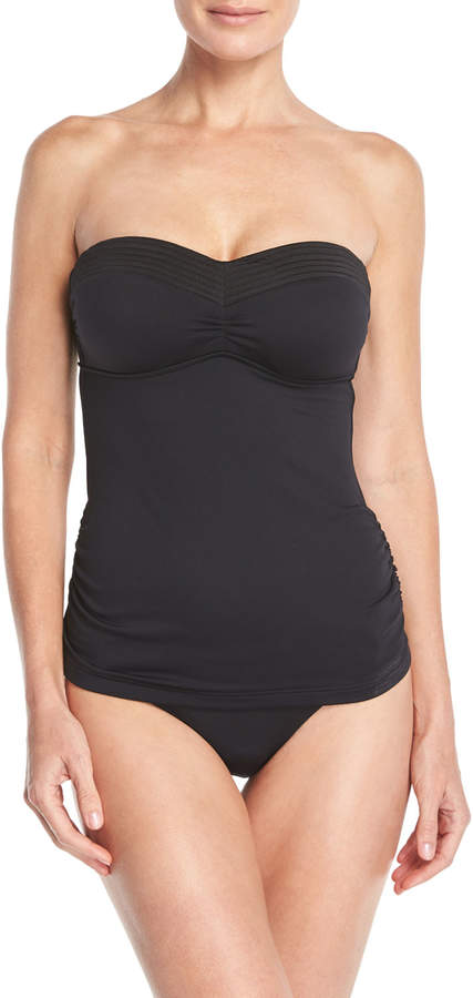 Seafolly Easy-Fit Bandeau Singlet Tankini Swim Top (C/D Cup)