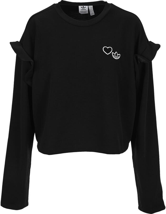 adidas Ruffled Crewneck Sweatshirt