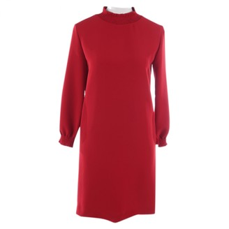 A.P.C. Red Leather Dresses