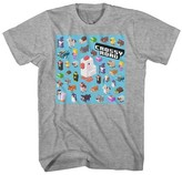 Boys' Crossy Road Group Graphic T-Shirt - Grey