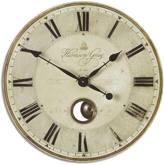 Uttermost Harrison Gray 23In Clock