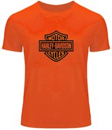 Harley Davidson Printed Tops T shirts Harley Davidson Printed For Boys Girls T-shirt Tee Tops