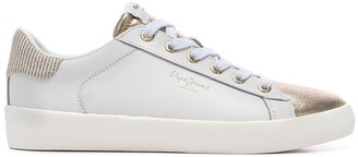 Pepe Jeans Kioto Top Leather Trainers