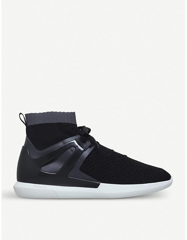 Bally Avallo caged mesh trainers