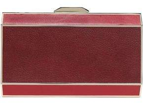 Anya Hindmarch Two-Tone Leather Clutch