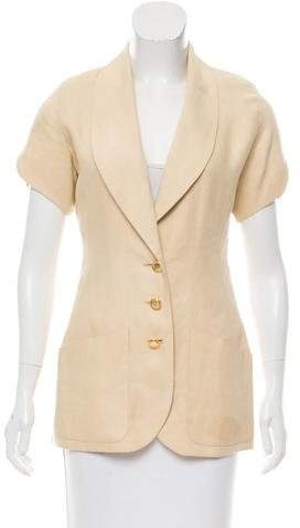Chanel Woven Structured Jacket