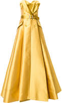 Alexis Mabille belted jacket gown