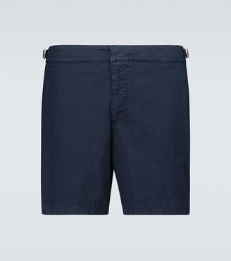 Orlebar Brown Bulldog cotton twill shorts