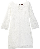 Ella Moss Double Tie Lace Dress (Big Girls)