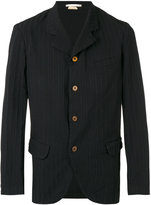 Comme des Garcons striped classic blazer - men - Polyester/Cupro - M