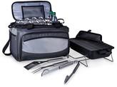 Picnic Time Buccaneer Tailgating Cooler & BBQ Set - Black/Silver