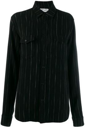 Saint Laurent Pinstripes Shirt