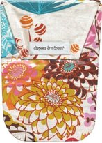 Diapees & Wipees Diapees and Wipees Waterproof Jubilee Flower Baby Diaper And Wipes Bag