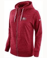 Nike Women's San Francisco 49ers Tailgate Vintage Full-Zip Hoodie