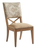 Tommy Bahama Los Altos Alderman Upholstered Dining Chair Home Upholstery Color: Gray