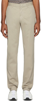 Ermenegildo Zegna Beige Slim Fit Trousers