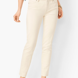 Talbots Slim Ankle Jeans - Natural