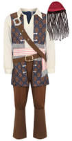 Disney George Adult Pirates of the Caribbean Jack Sparrow Fancy Dress Costume