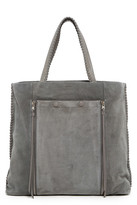 AllSaints Fleur de Lis North/South Tote