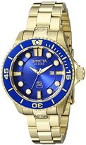Invicta Women's 19818 Pro Diver Analog Display Swiss Quartz Gold Watch