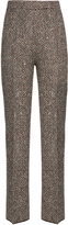 Giambattista Valli Embellished tweed trousers