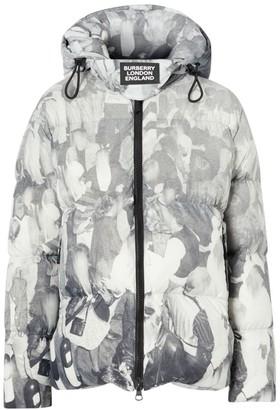 Burberry Unisex Dalston Monochrome Down Puffer Coat