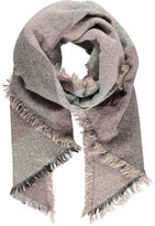 Forever 21 Diamond-Patterned Diagonal Scarf
