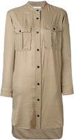 Etoile Isabel Marant long-sleeve shirt dress - women - Cotton/Modal - 36