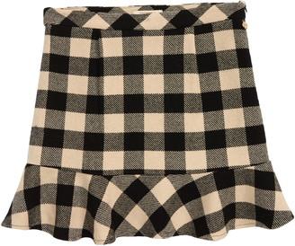 Scotch R'Belle Check Wool Blend Skirt