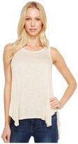 Stetson 1060 Slub Jersey Knit Hi-Lo Tank Top Women's Sleeveless