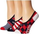 Vans Polling Place Canoodles 3-Pack Women's Crew Cut Socks Shoes