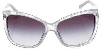 Dolce & Gabbana Lace Cat-Eye Sunglasses