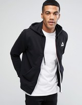Le Coq Sportif Zip-up Hoodie In Black 1710370